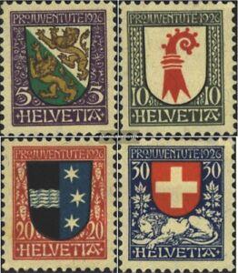 Schweiz-218-221-kompl-Ausgabe-postfrisch-1926-Pro-Juventute