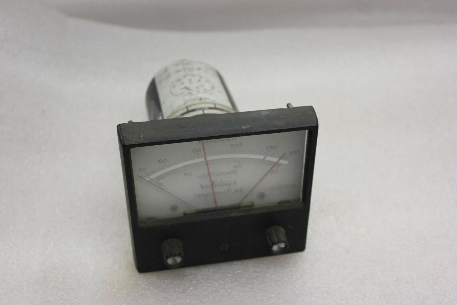 VIRTRONICS Temperature panel meter 0-300F Model  55-MRTC-2S 115V (TS23)