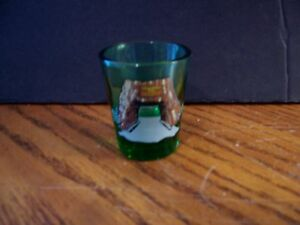 Drive Thru Chandelier Tree Green Single Shot Glass Northern Cal ...