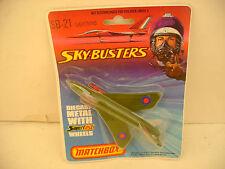 MATCHBOX LESNEY SUPERFAST SKY-BUSTERS SB-21 LIGHTNING FIGHTER JET NEW MOC