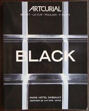 Catalogue de vente Artcurial DESIGN Black Noir Marcel Wanders