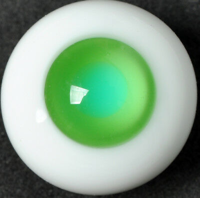18MM Special Green No Pupil Glass BJD Eyes for DOD DZ AOD Volks Reborn Doll luts