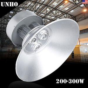 Led high bay light cob 100150200300 watt warehouse commercial image is loading led high bay light cob 100 150 200 aloadofball Image collections