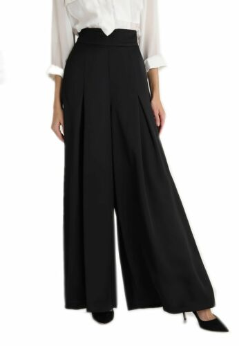 Hight misura Coast Hattie Vita Nero Pantaloni Donna New 16 18 Donna 14 12 10 8 8CdWXHqwx