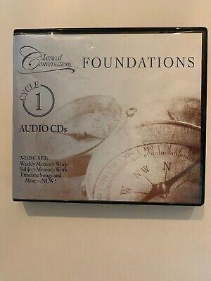 Classical Conversations Foundations Cycle 1 Audio Cd 3 Disc Set 2012 Homeschool Ebay