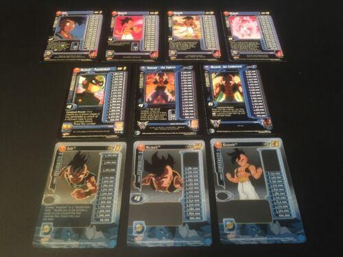 Dragon Ball GT CCG Uub Lvl 1-4 W/HT Lvl 1-3!! Baby Saga!!