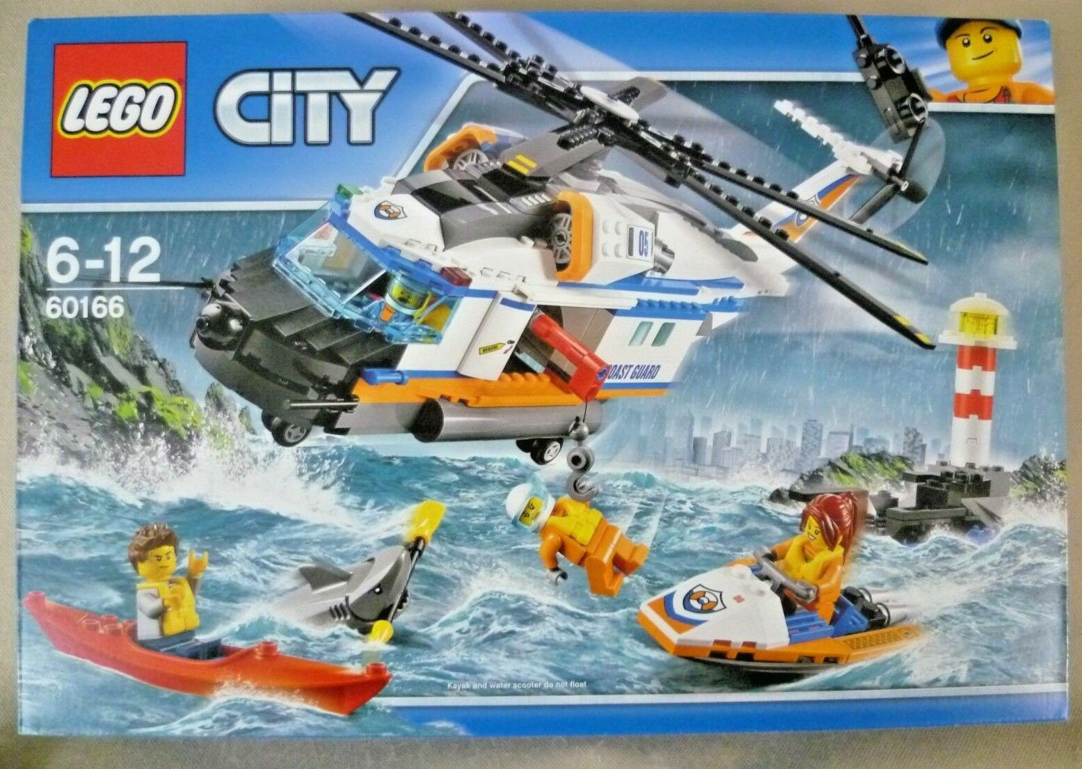Collectable Lego - Boxed City Set 60166 Heavy Duty Rescue Helicopter - 2017 BNIP