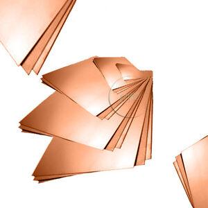 feuille de cuivre plate taille divers options de cuivre et 1 2 ebay. Black Bedroom Furniture Sets. Home Design Ideas