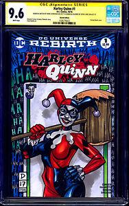 Harley-Quinn-1-BLANK-CGC-SS-9-6-signed-ORIGINAL-SKETCH-Donovan-Lydic-COLOR