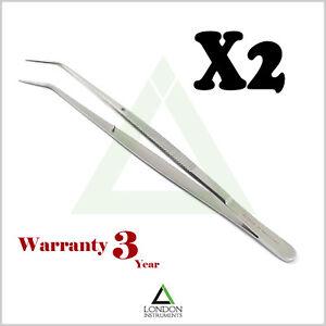 Dental-London-College-Tweezer-Tweezers-Serrated-Tip-Dental-Surgical-Pliers-Lab
