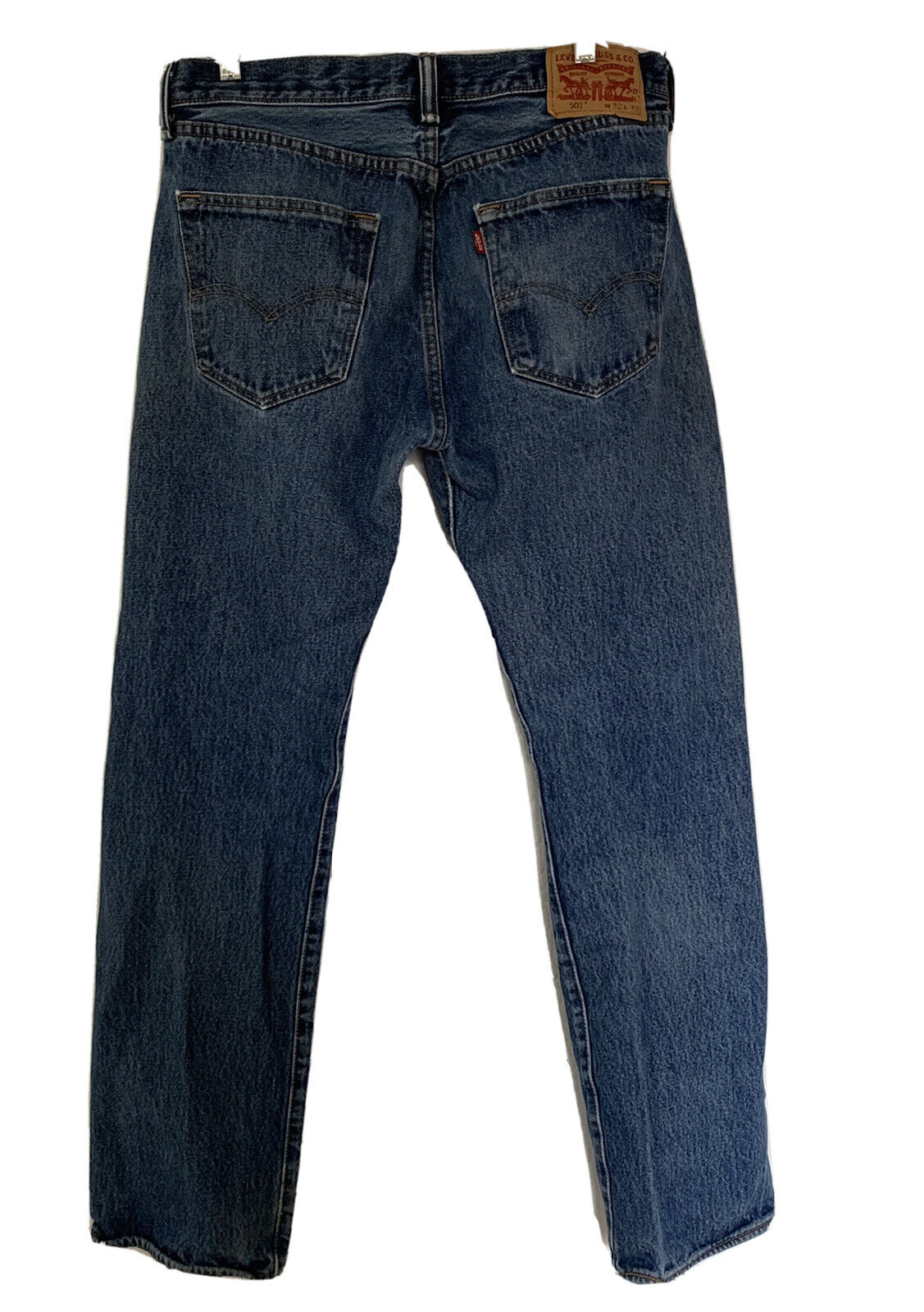 Vintage Levi's 501 Button Fly Distressed Jeans Me… - image 6