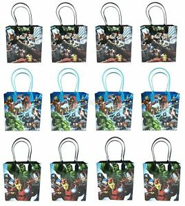 Marvel-Avengers-Goody-Bag-Party-Goodie-Gift-Birthday-Candy-Bags-12pc