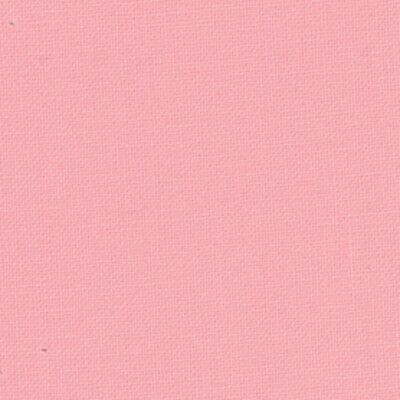 Moda Fabric Bella Solids Bubble Gum Sold Per 1//4 Metre Pink Quilting Fabric