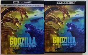 GODZILLA-KING-OF-THE-MONSTERS-4K-ULTRA-HD-BLU-RAY-2-DISC-SET-SLIPCOVER-SLEEVE