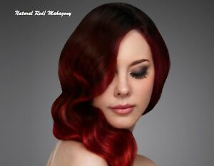 Henna Hair Dye Red Wine Mahagony Natural Color Powder Conditioner