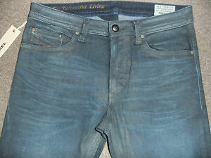a82c373d Details about DIESEL THAVAR 0824Q MENS JEANS 100% AUTHENTIC BNWT SLIM  SKINNY D.N.A MUTATION