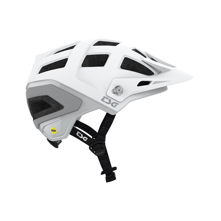 TSG Scope Casco blancoo MIPS profesional Team Enduro estándar de Bicicleta de Montaña Bicicleta Casco