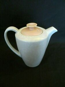 Poole-Pottery-Twintone-Peach-Bloom-amp-Seagull-Tea-Pot-Lovely-Condition