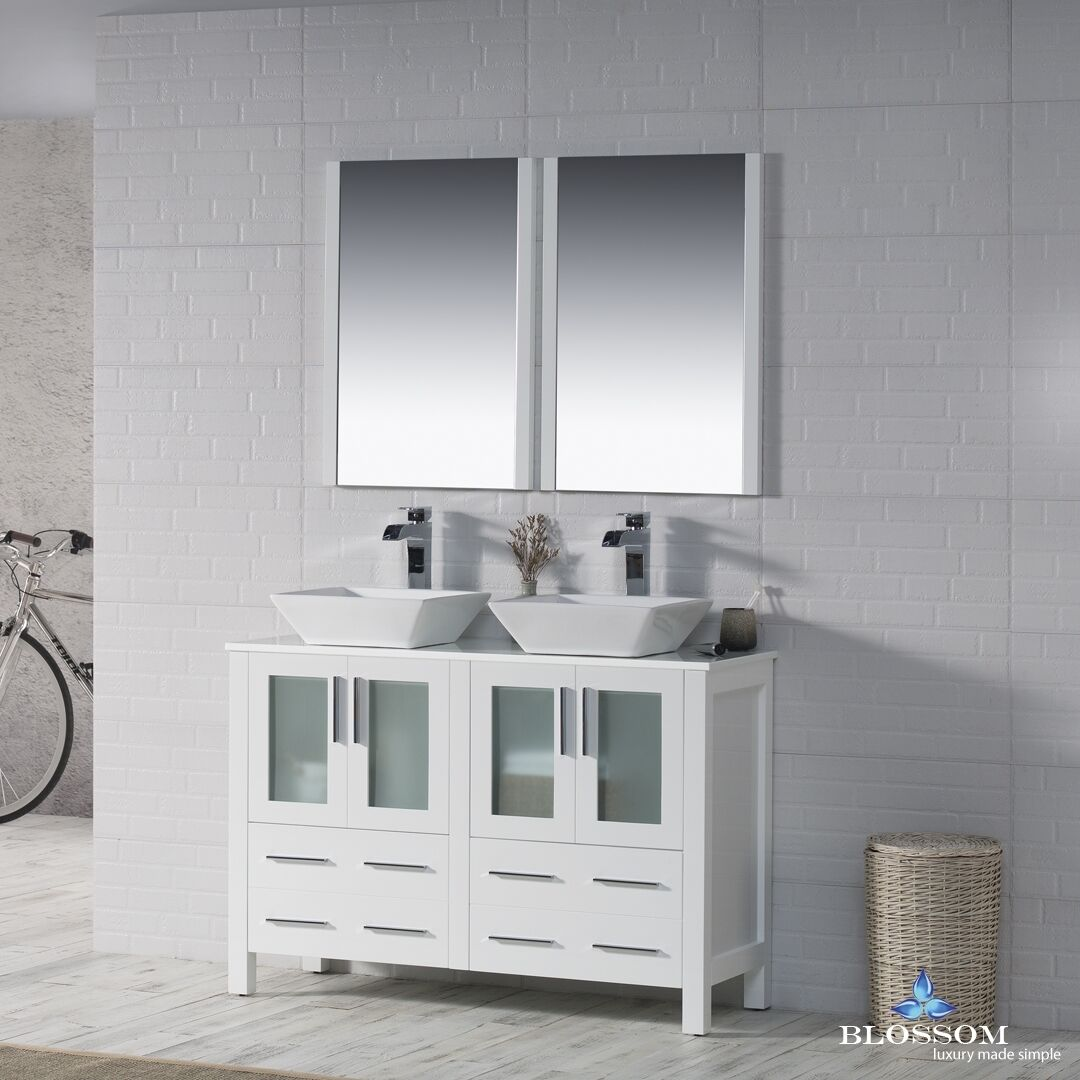 Model Tidal Bathroom Vanity Sydney 73 Double Sink  Canaroma Bath