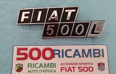 FIAT 500 L CHIUSURA COFANO POSTERIORE ZAMA CROMATA RICAMBI D/'EPOCA 40//40111