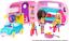Barbie FXG90 club Chelsea Conjunto de Juego Con Muñeca Cachorro coche caravana de transformar y