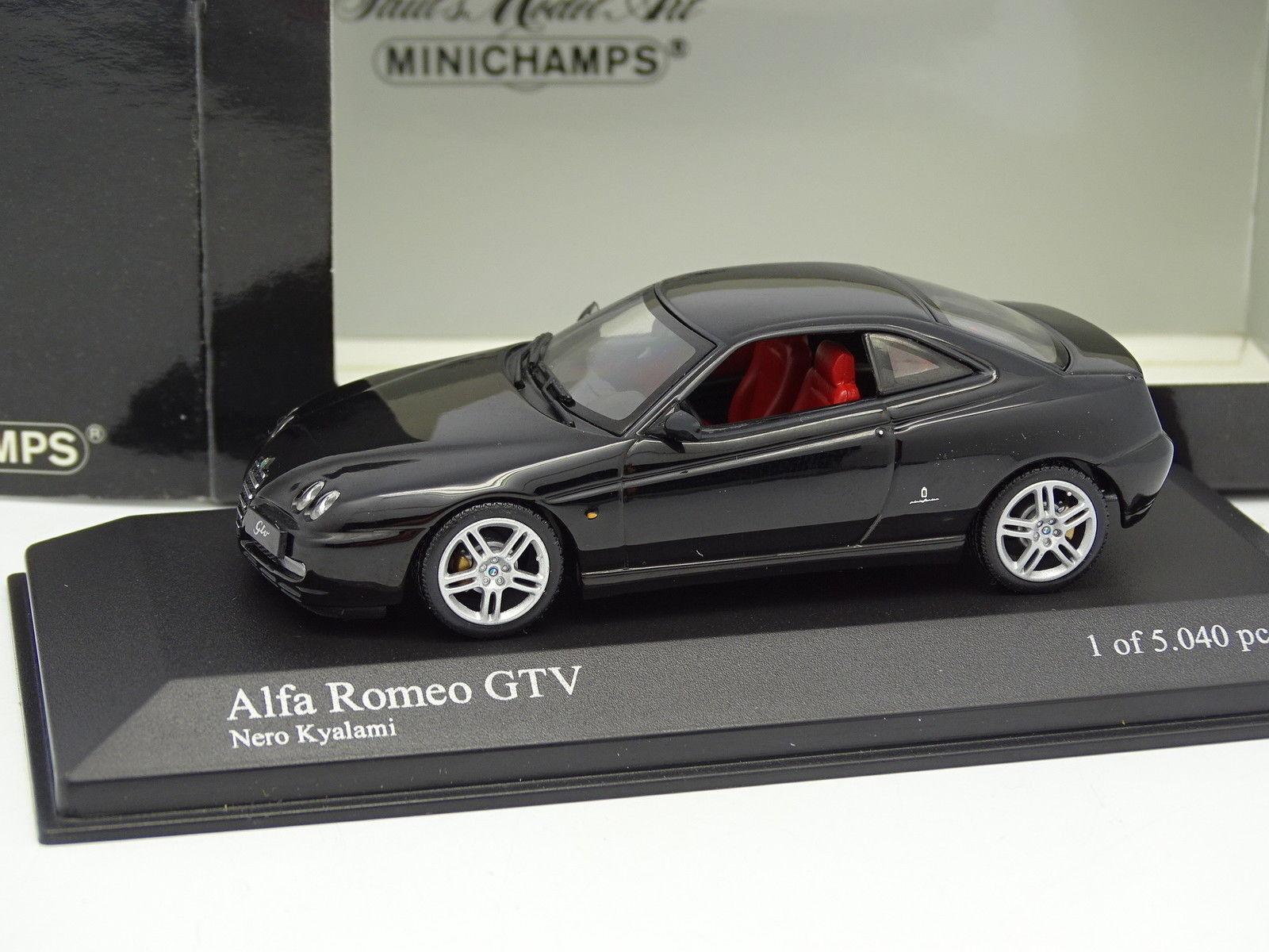Minichamps 1 43 Alfa Romeo GTV 2003 Black