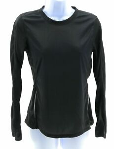 Womens-Top-Size-Small-Black-Long-Sleeve