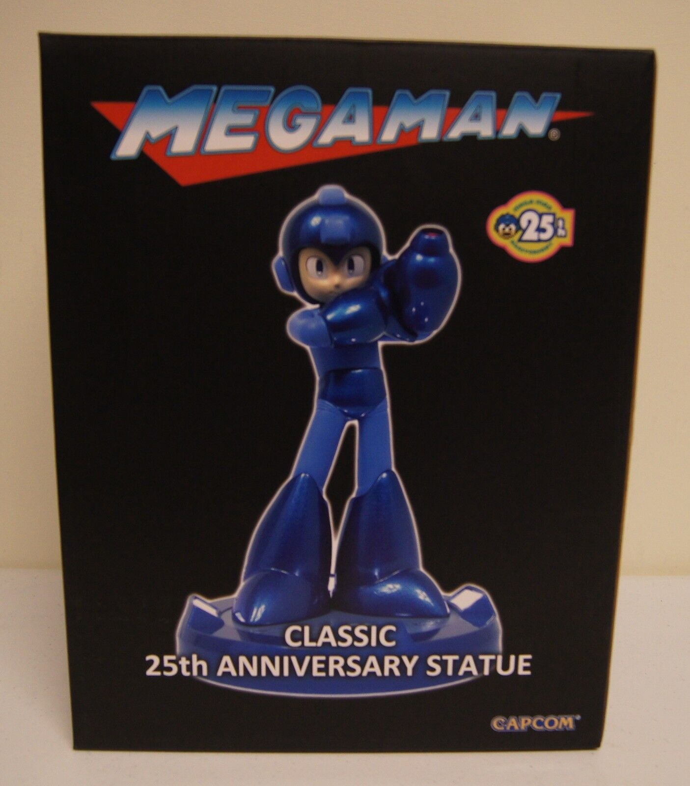 Nuovo Mega Man 25th Anniversary SDCC 2013 Exclusive 10  Classic Statue by Capcom