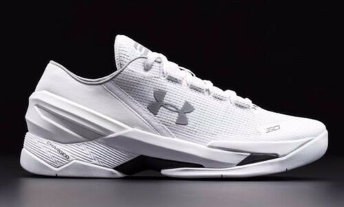 Under Armour Curry 2 Low White Size 9.5 Chef II