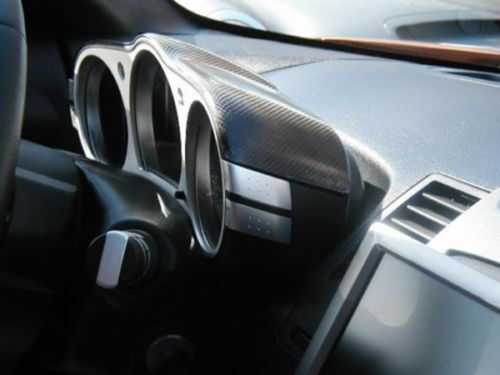 Carbon Fiber Dial Dash Cover Panel Moulding Trim For Nissan Z33 350Z Interior