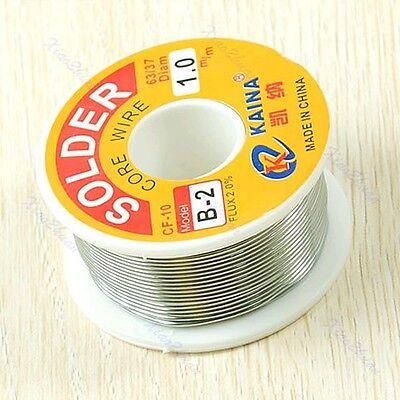 Tin Lead Line Rosin Core Flux Solder Welding Iron Wire Reel 63/37 1mm 100g/3.5oz