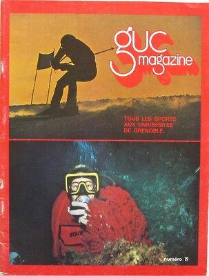 Vriendelijk Guc Magazine N°19 - 1981 - Sport U Grenoble - Charlety 81 - Athlétisme