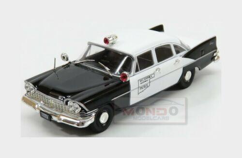 Plymouth Savoy Police 1963 White Black EDICOLA 1:43 ED126907