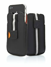 BULK BUY Cygnett CYGCY0430CPBOS Boston Leather Case for Apple iPhone 4/4S - 50pc