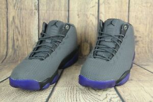 5d9b4d6fb7e6fa Nike Jordan Horizon Low Mens Basketball Shoes Dark Grey Black 845098 ...