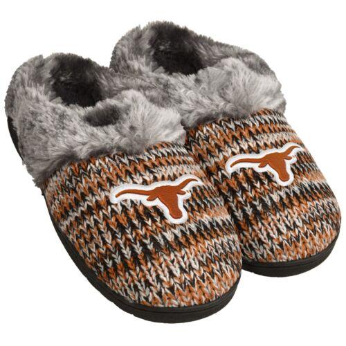 Texas Longhorns TX Slippers Logo NEW Womens Slide House shoes Peak Slide NCAA