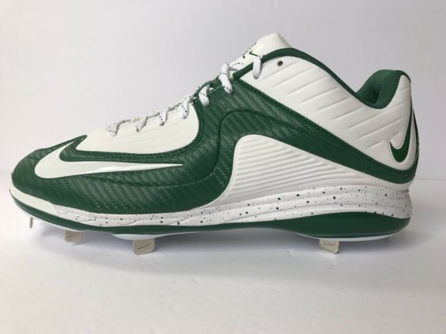 the best attitude 32ed1 8bde3 Nike Air MVP Pro 2 Metal Baseball Cleats Green White New Mens 12.5 14  684685 140