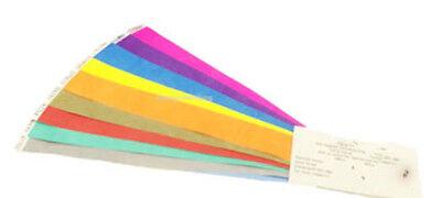6X Colorful Slap Bracelets Assorted Slap Wrap Wrist Bands Kids Party Toy GiftJ7