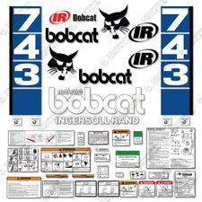 Bobcat 743 Decal Kit Skid Steer Decals Blue Stripes 7 Year 3m Vinyl
