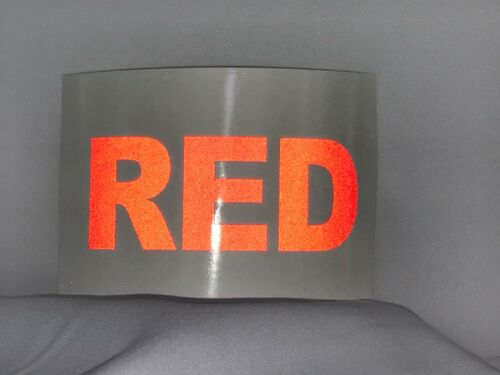 """Custom Highly Reflective Vinyl 2.0/"""" Inch Letters//Numbers 8 colors"""