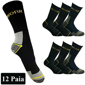12-Pairs-SOCKS-Stockings-man-from-work-reinforcing-Work-technical-Size-40-46