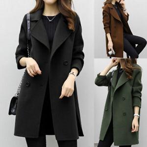 Manteau long femme hiver ebay