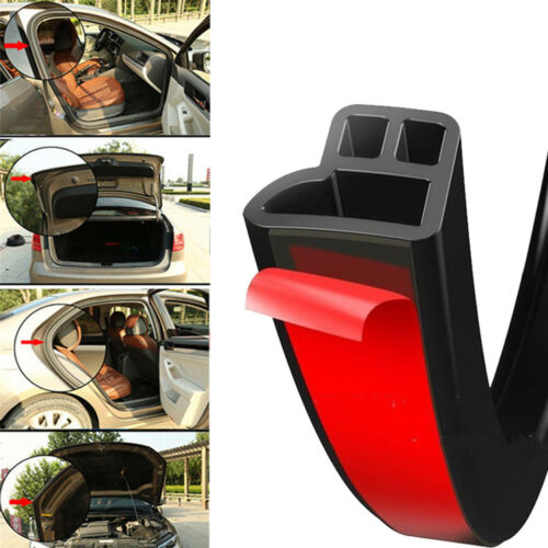 Trim Moulding Hood Car Auto Door Edge L Shape Rubber Seal Weatherstrip Universal