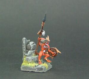 Details about Warhammer Fantasy Lizardmen Hero / Shaman Painted &  Customized by TMC Team