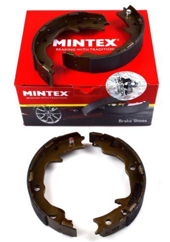 MINTEX REAR PARKING BRAKE SHOES MITSUBISHI JEEP MFR683 REAL IMAGE OF PART