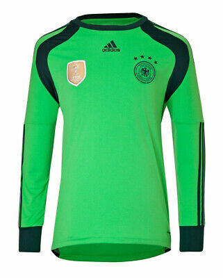 ADIDAS GERMANY GOALKEEPER HOME JERSEY FIFA WORLD CUP 2014 4 STARS ...
