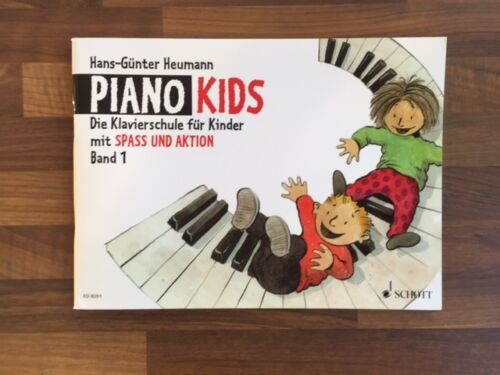 Die Klavierschule für Kinder mit Spass und Aktion PIANO KIDS