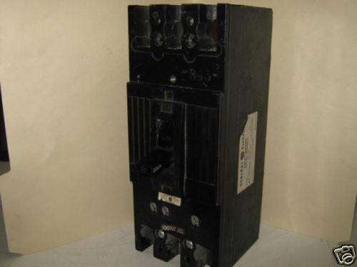 GENERAL ELECTRIC TFJ236200 CIRCUIT BREAKER 200A