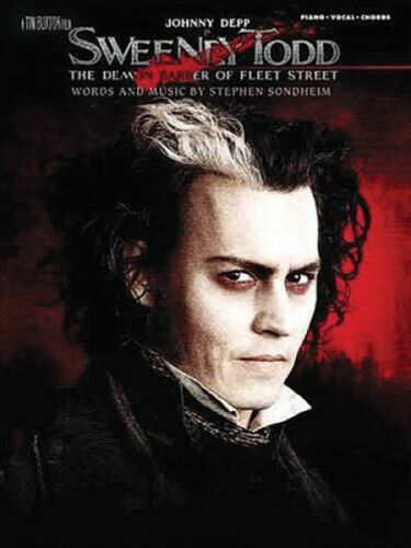 Sweeney Todd Sheet Music Sweeney Todd The Movie Vocal Selections Book  000313532