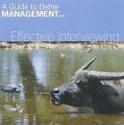 Effective Interviewing (fastforward Management Guides) Di Kamp 9781903636213